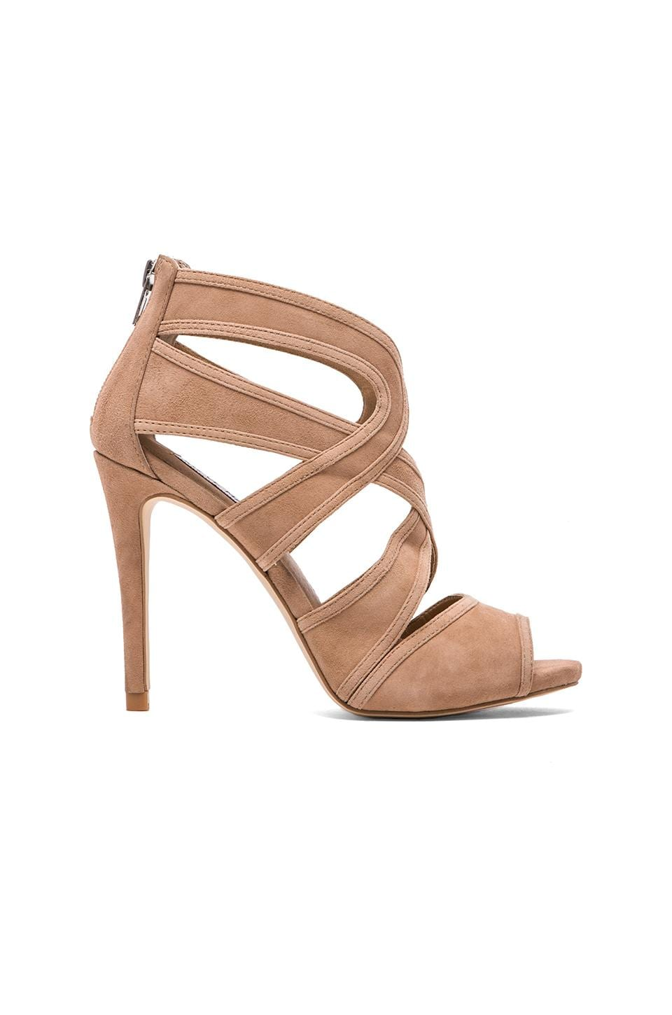 Steve Madden Immence Heel in Blush Suede