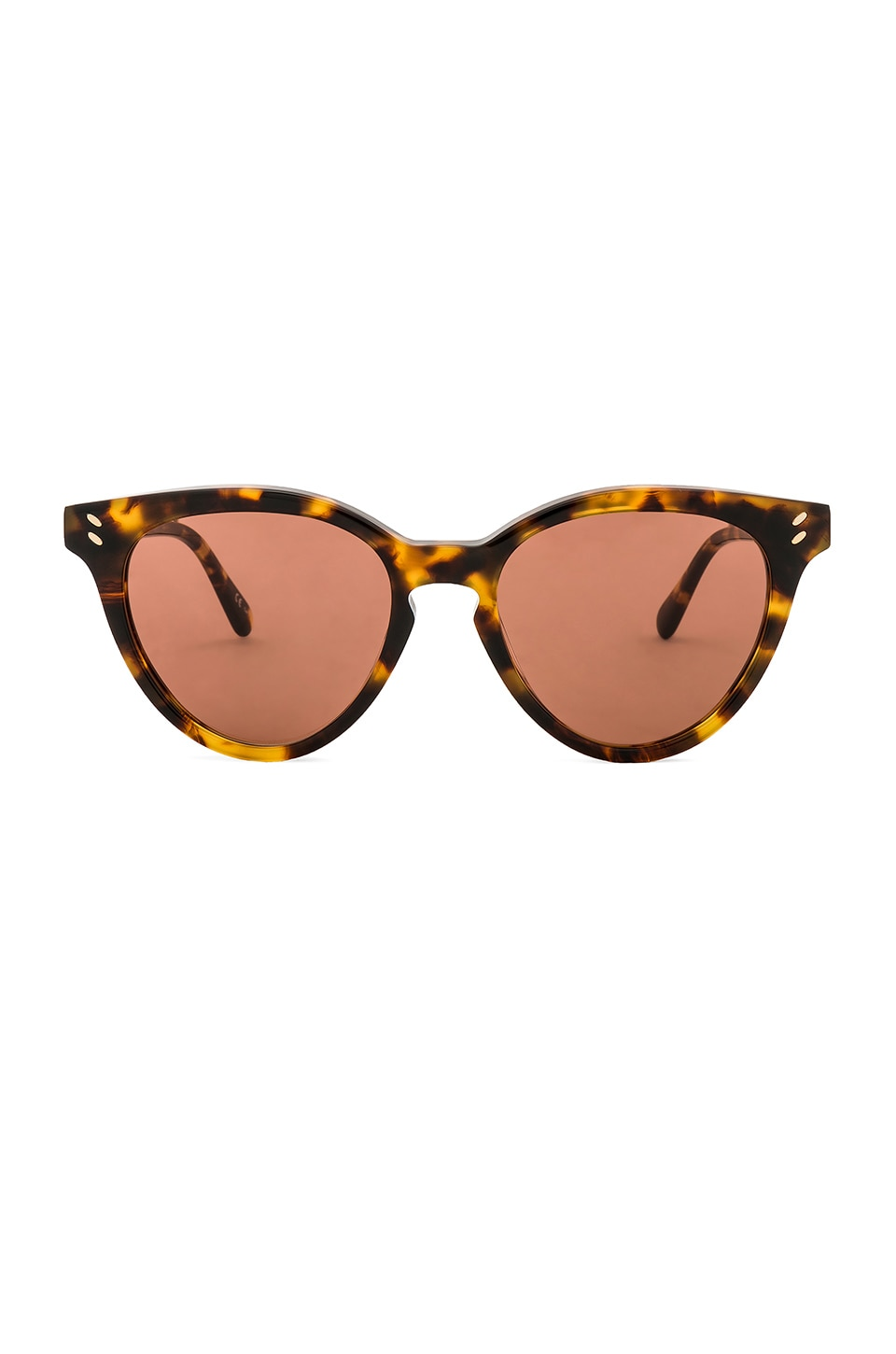 Stella McCartney LUNETTES DE SOLEIL ROUND CAT EYE ACETATE