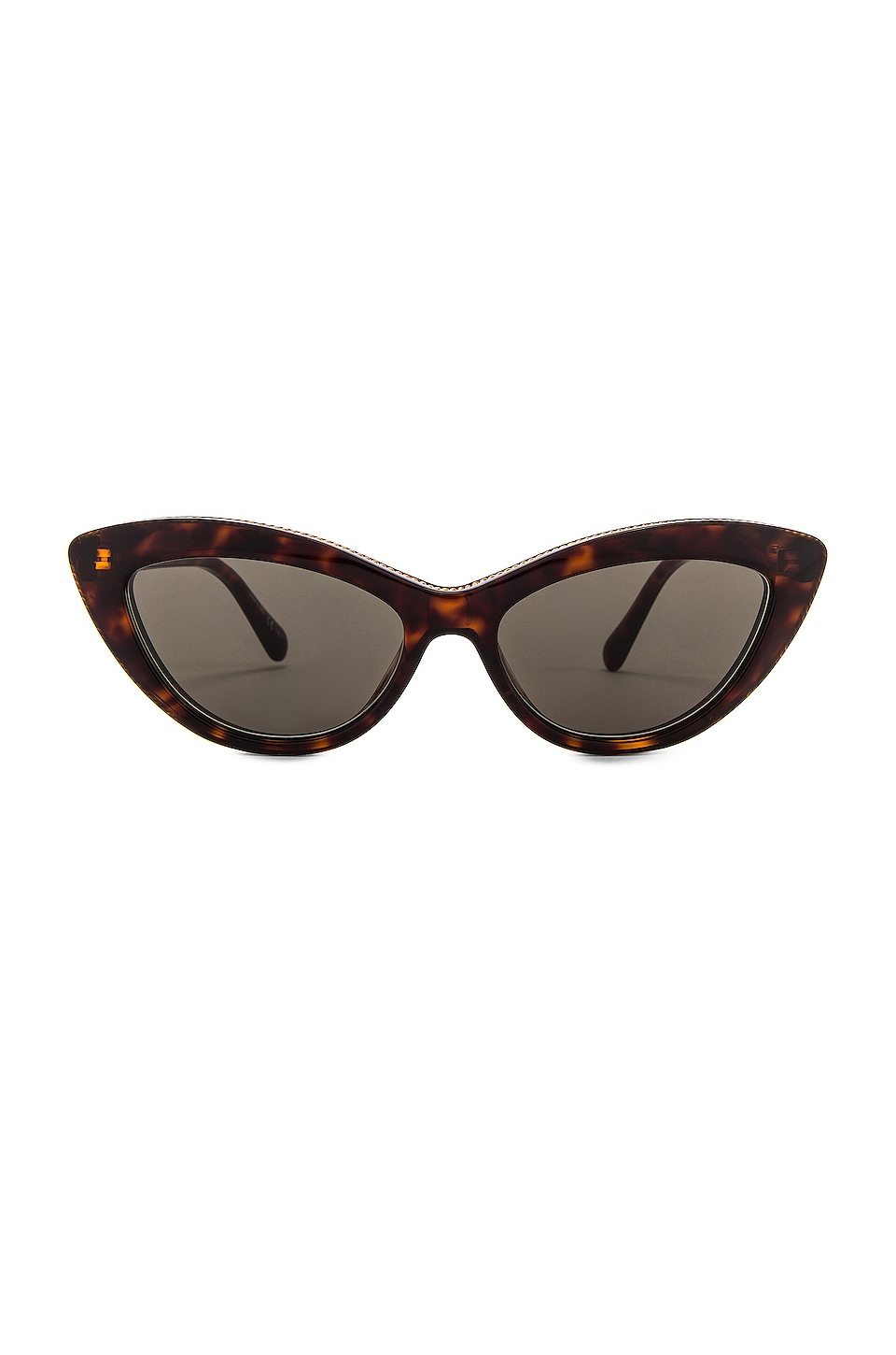 Stella McCartney Cat Eye in Havana & Green
