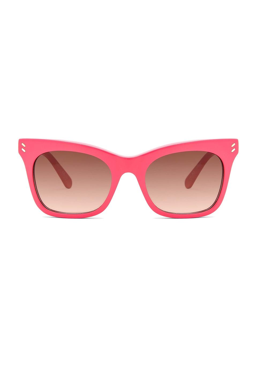 Stella McCartney Falabella Square in Pink & Orange & Brown