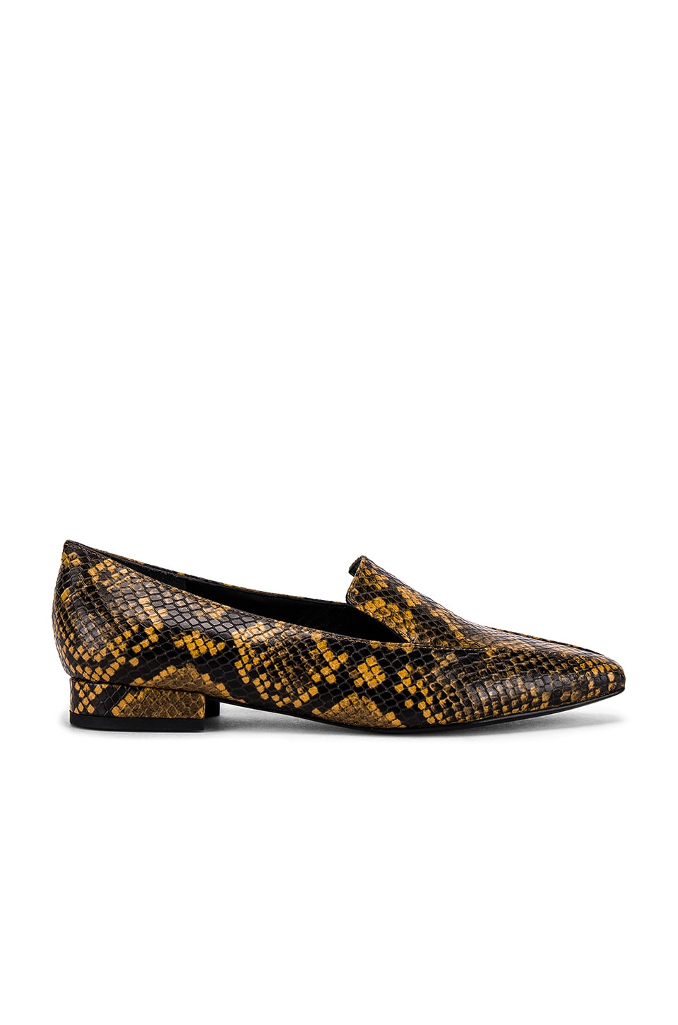 Sigerson Morrison Calida Loafer in Yellow & Black