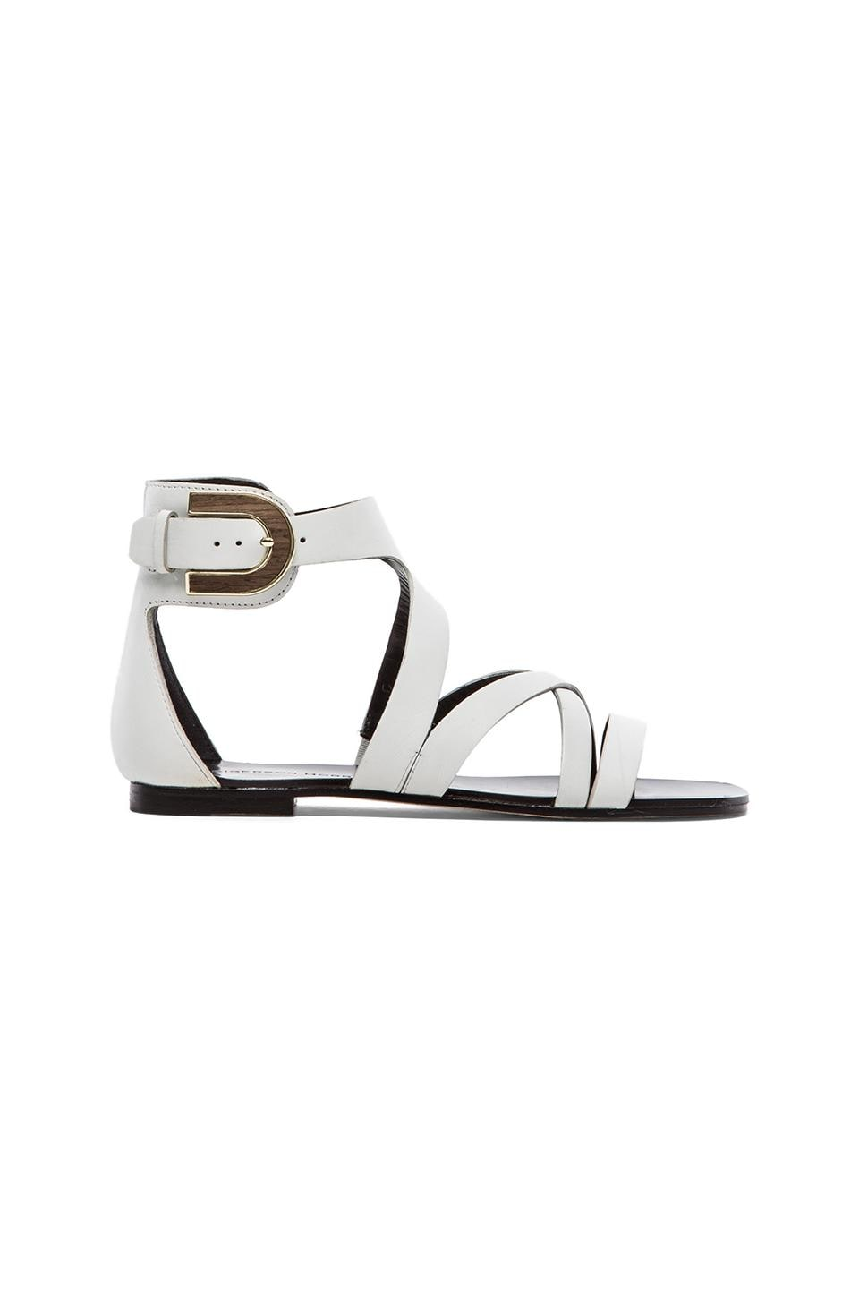 Sigerson Morrison Cadee Sandal in White