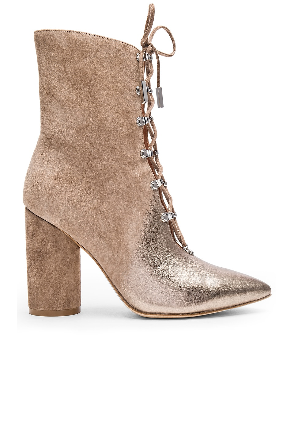 Sigerson Morrison Knight Bootie in Pyrite