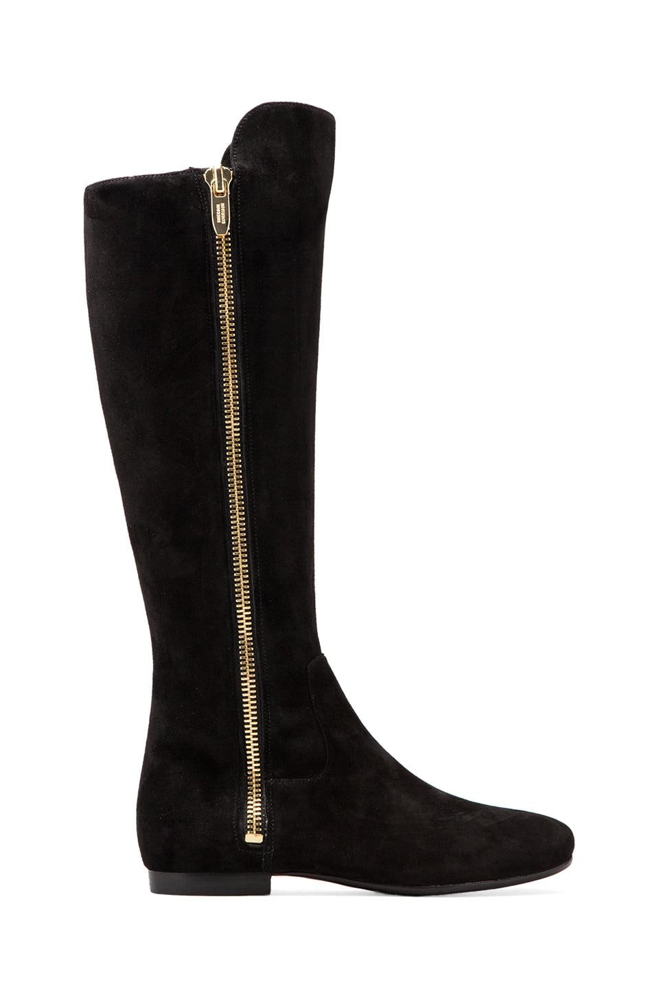 Sigerson Morrison Pamela Side Zip Boot in Black