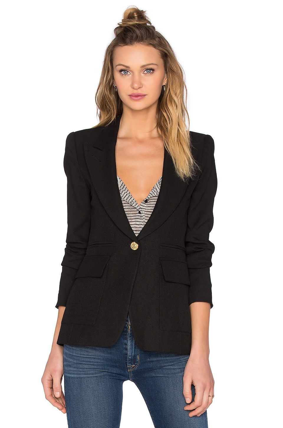 Patch Pocket Blazer at Revolve Clothing