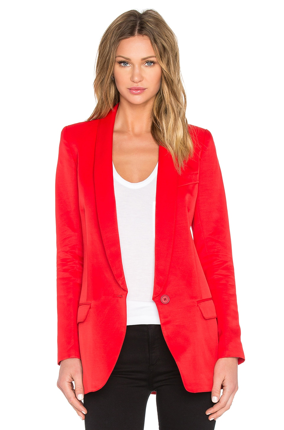 Long Shawl Blazer at Revolve Clothing