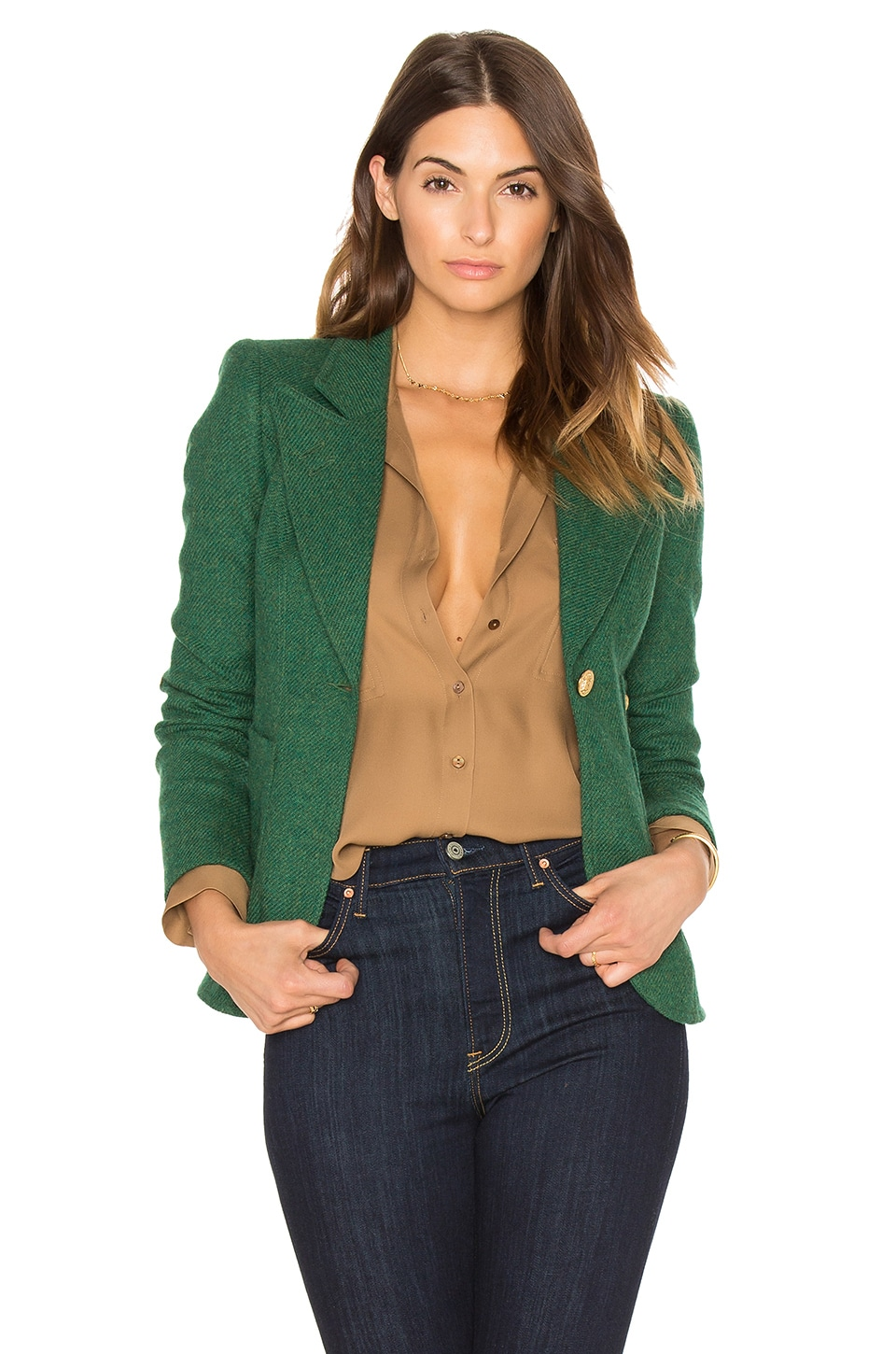 Patch Pocket Duchess Blazer at REVOLVE