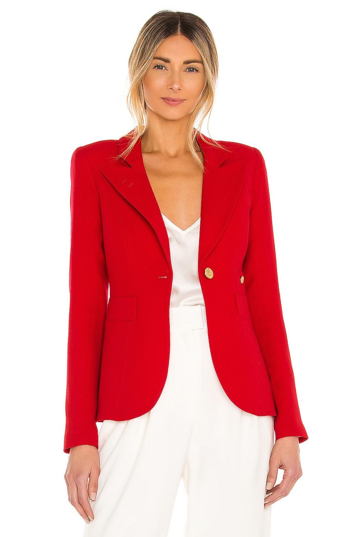 Smythe Duchess Blazer In Red Revolve
