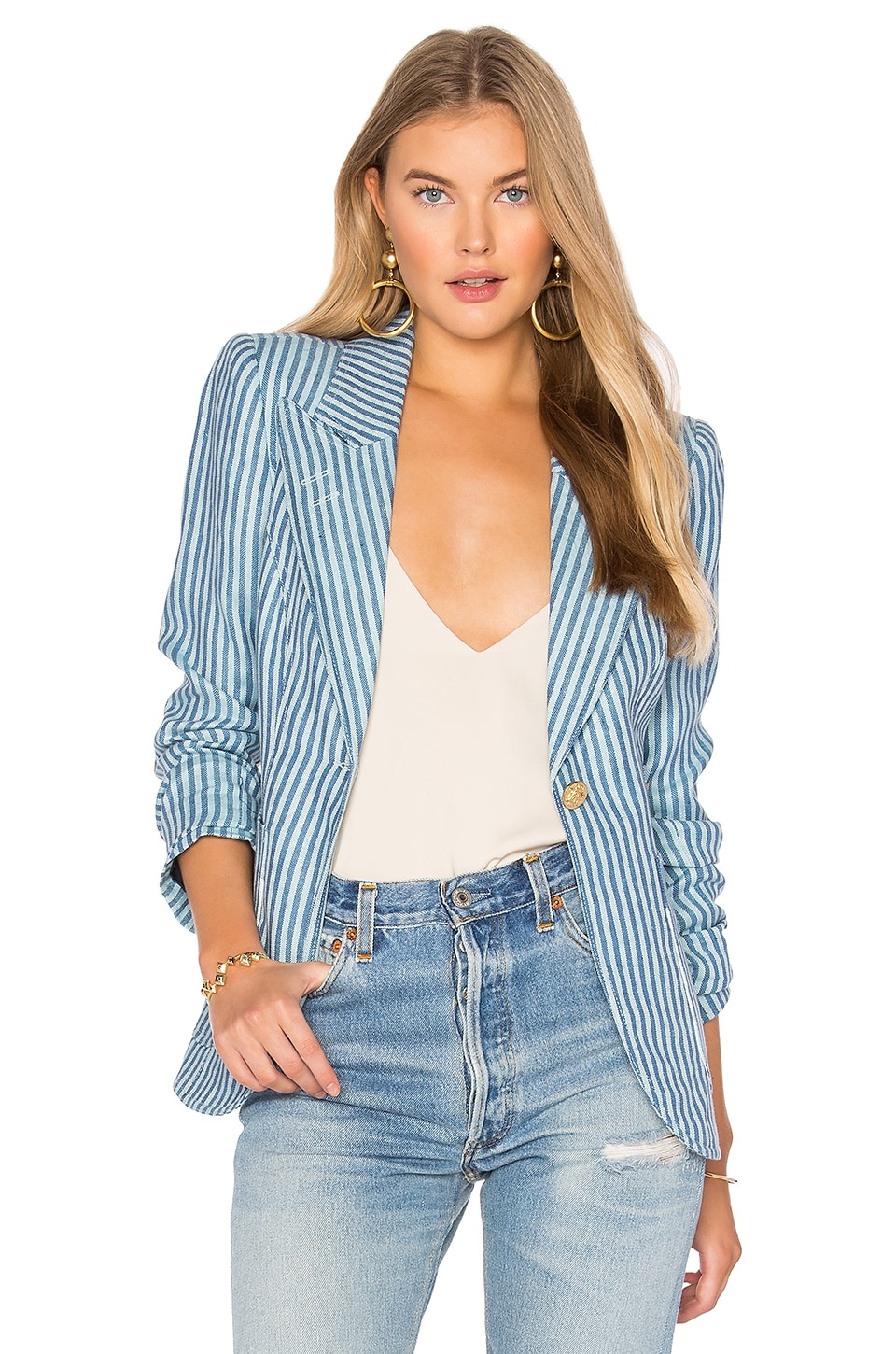 Patch Pocket Duchess Blazer by Smythe