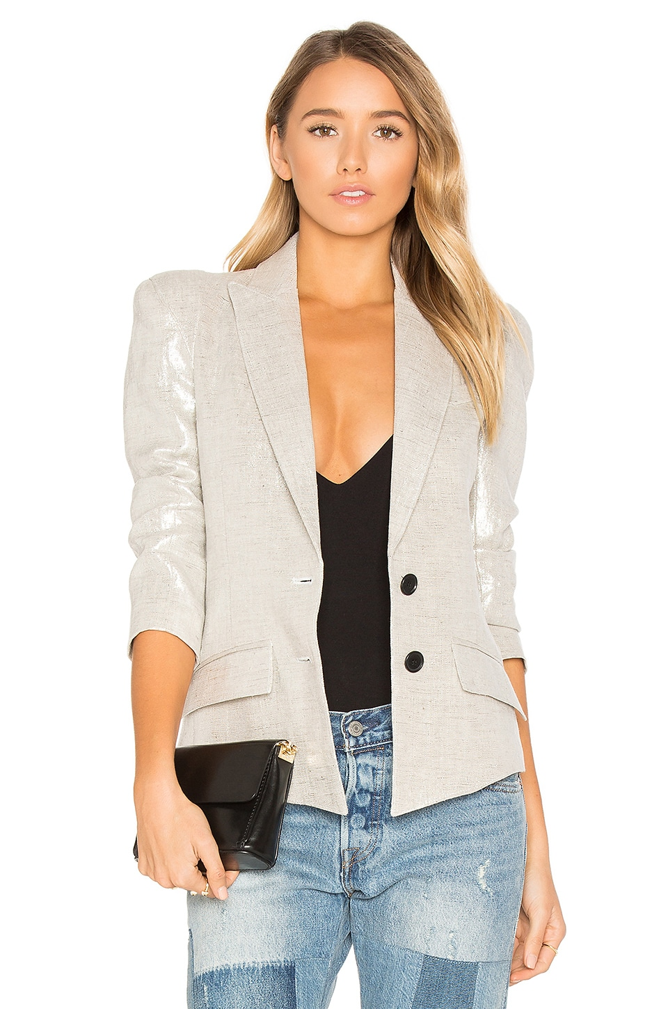Smythe Pagoda Blazer in Metallic