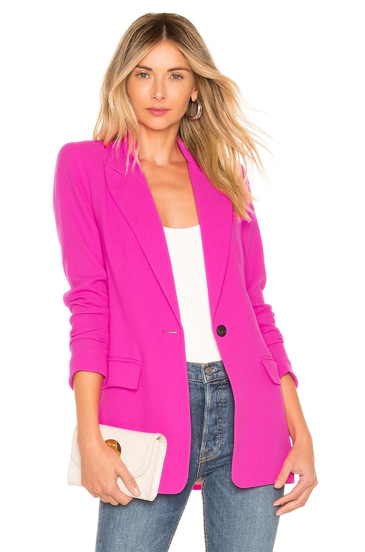 Smythe Tailored Blazer en Neon Pink