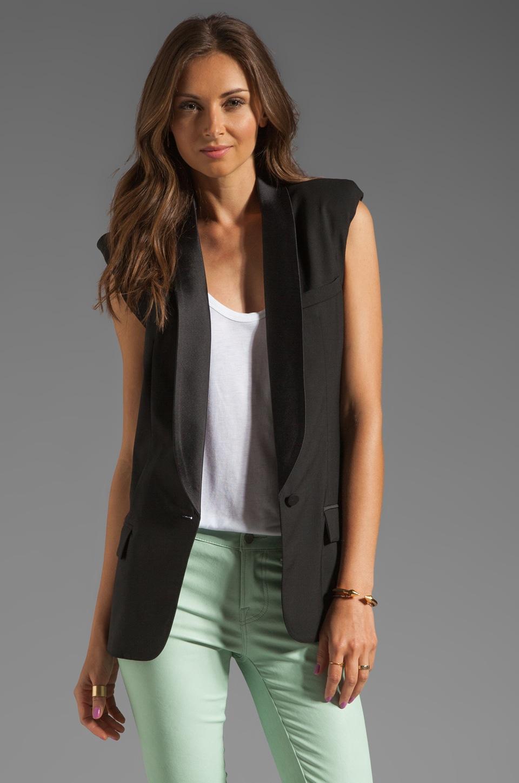 Smythe Tuxedo Vest in Black