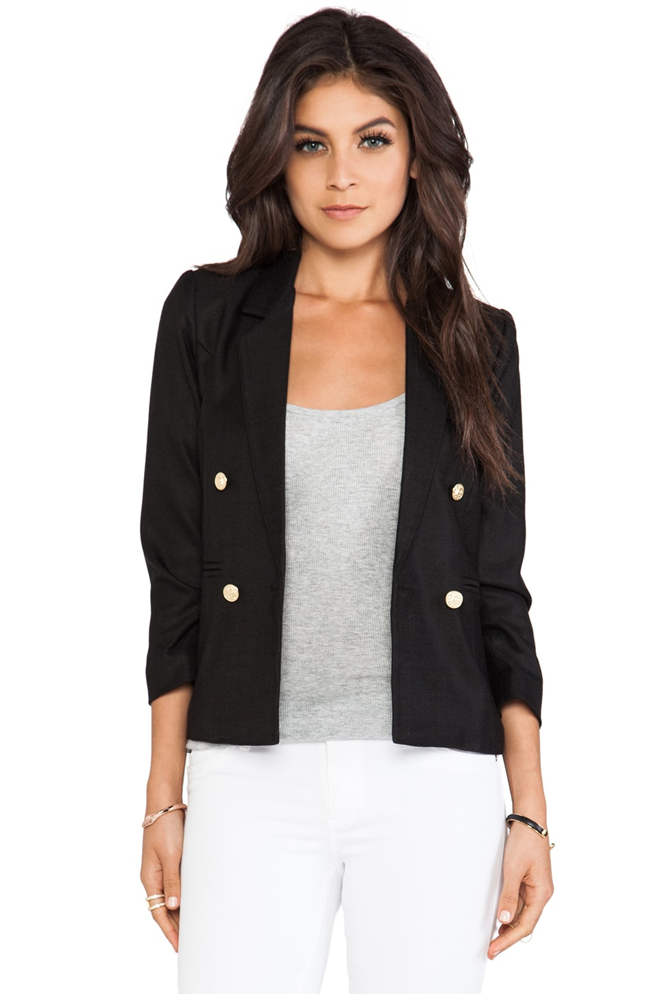 Smythe College Blazer in Black