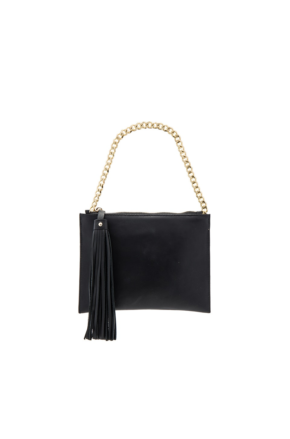 Sancia Mia Chain Clutch in Black
