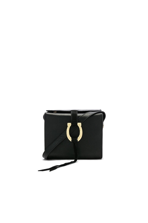 SANCIA Madelena Mini Crossbody in Black