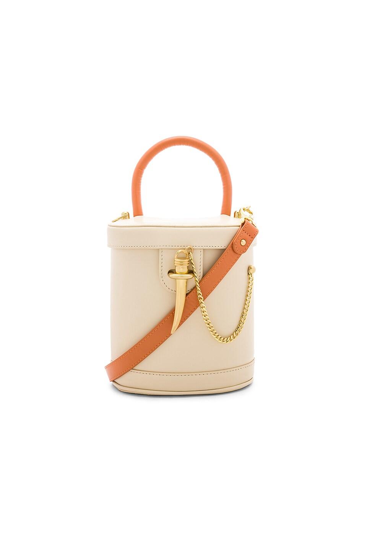 SANCIA Camilo Bucket Bag in Cream