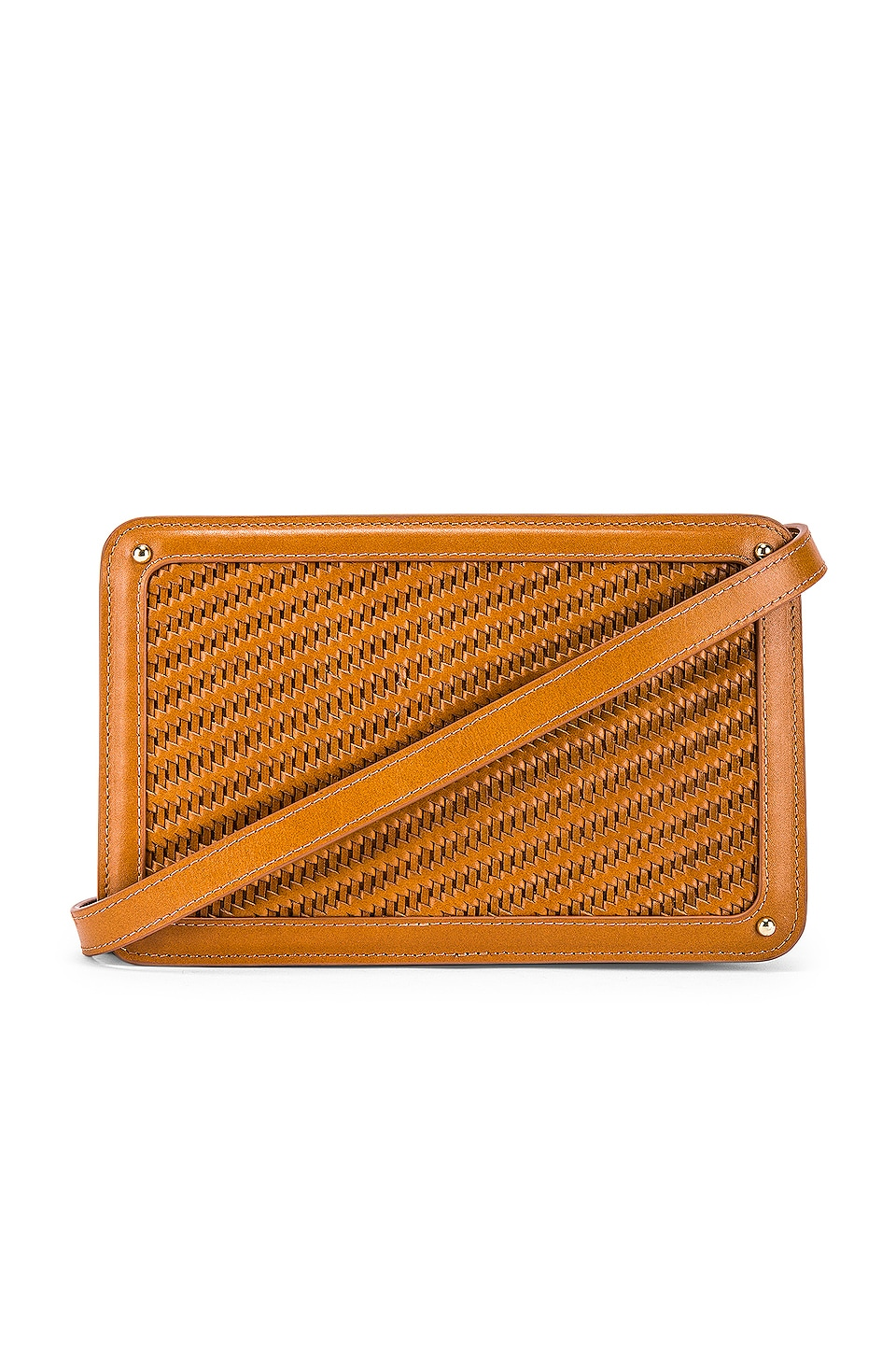 Sancia The Elodie Clutch in Cognac
