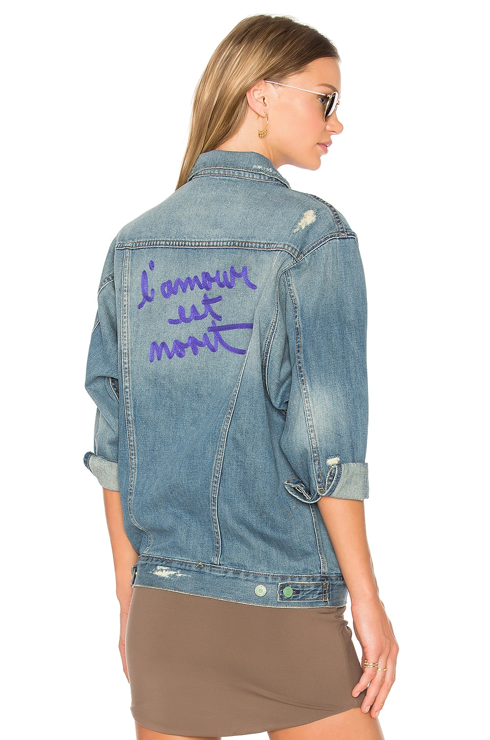 Sandrine Rose The Denim Jacket in Clayton
