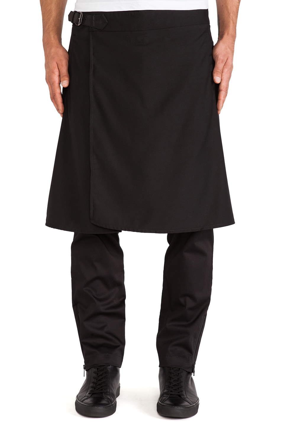 SKINGRAFT Skirt Pants in Black