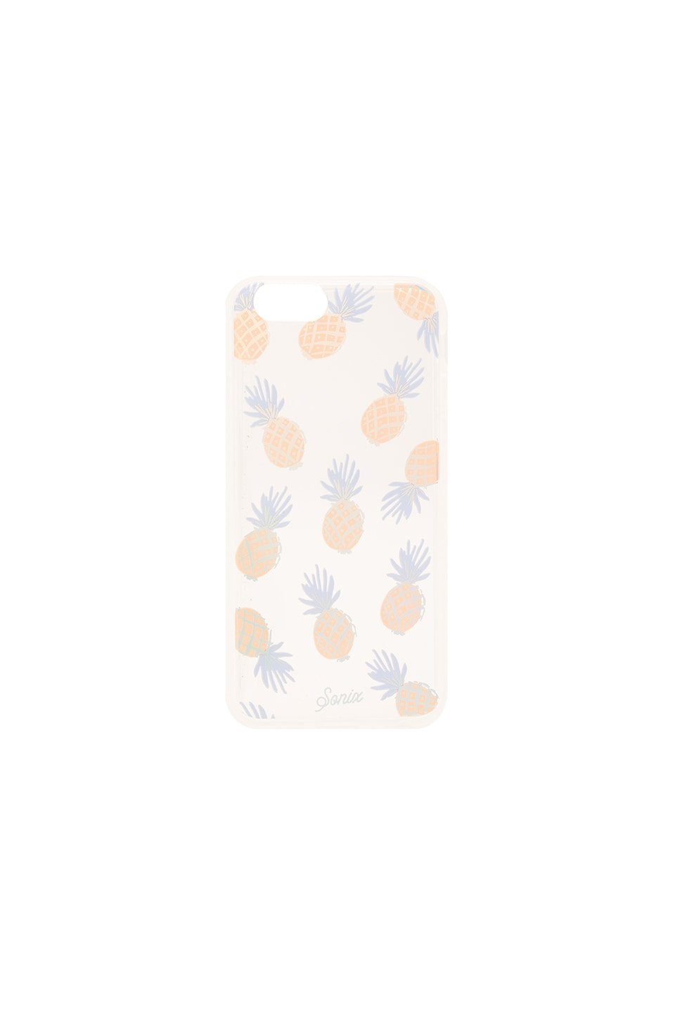 Sonix Rainbow Pineapple iPhone 6/6s Case in Clear