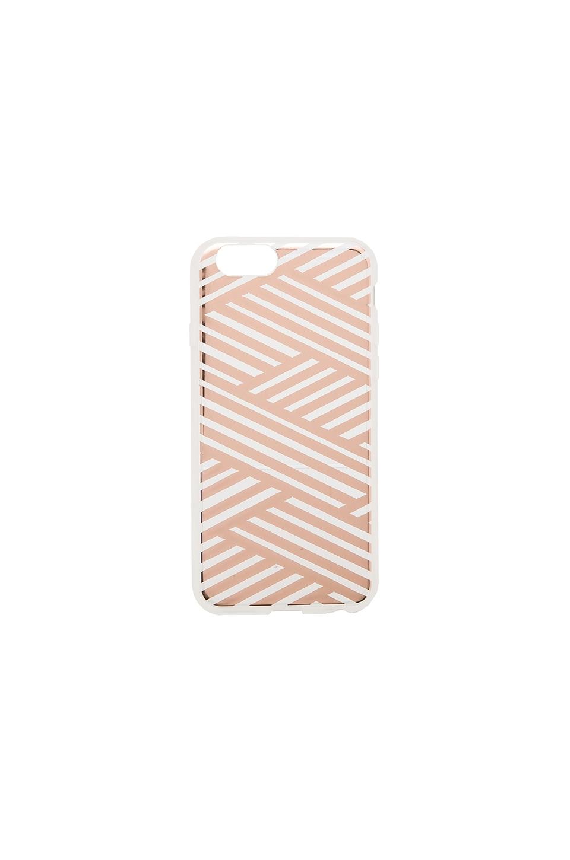Sonix Criss Cross iPhone 6 Case in Rose Gold