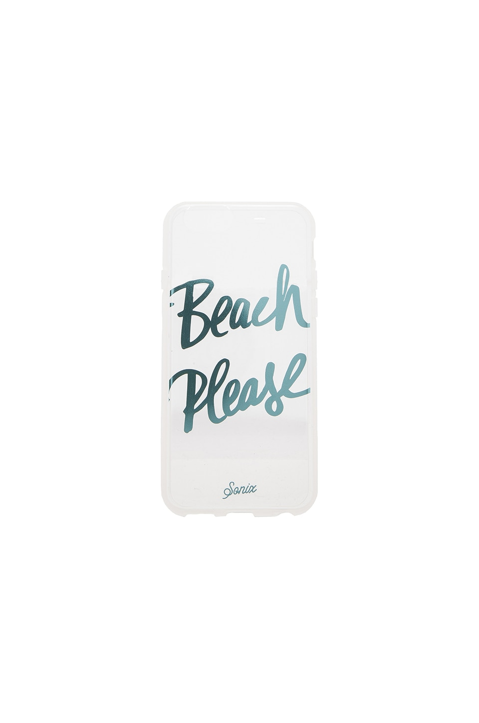 Sonix Clear Beach Please iPhone 6 Case in Clear