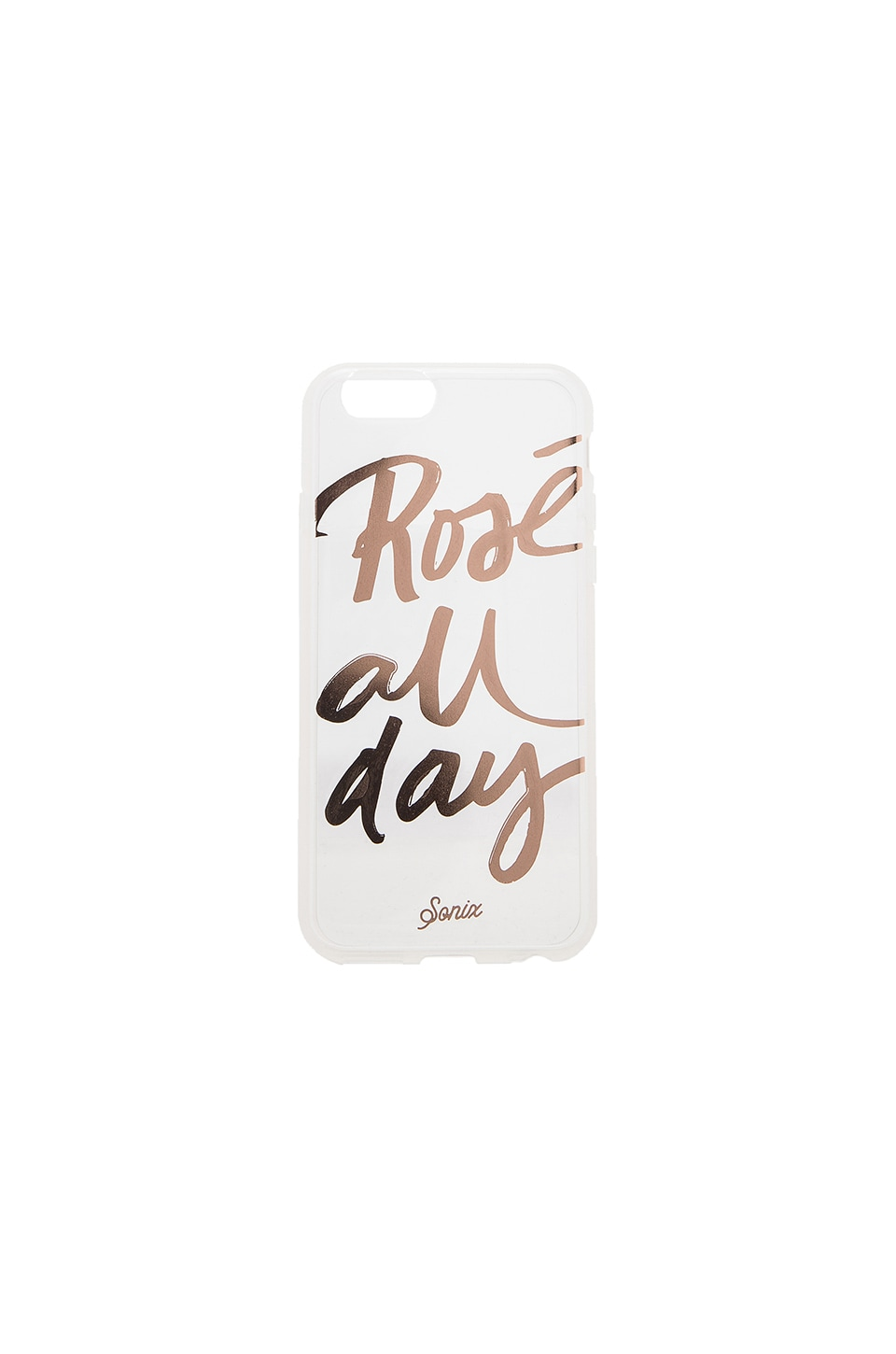 Sonix Clear Rose All Day iPhone 6 Case in Clear