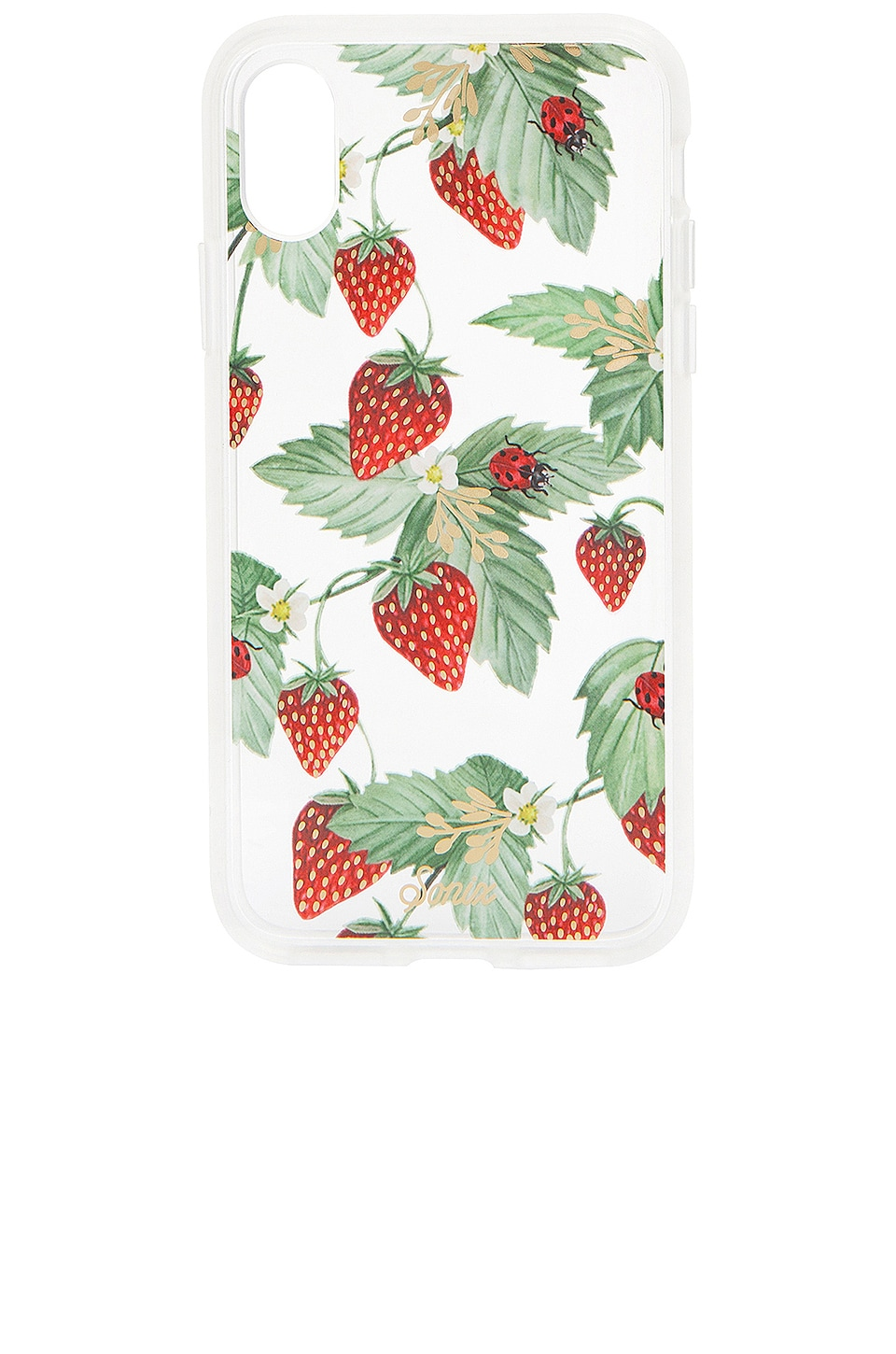 Sonix Fraise iPhone X/XS Case in Red