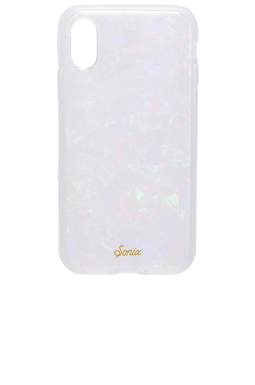 Sonix iPhone XS/X Case in Pearl Tort