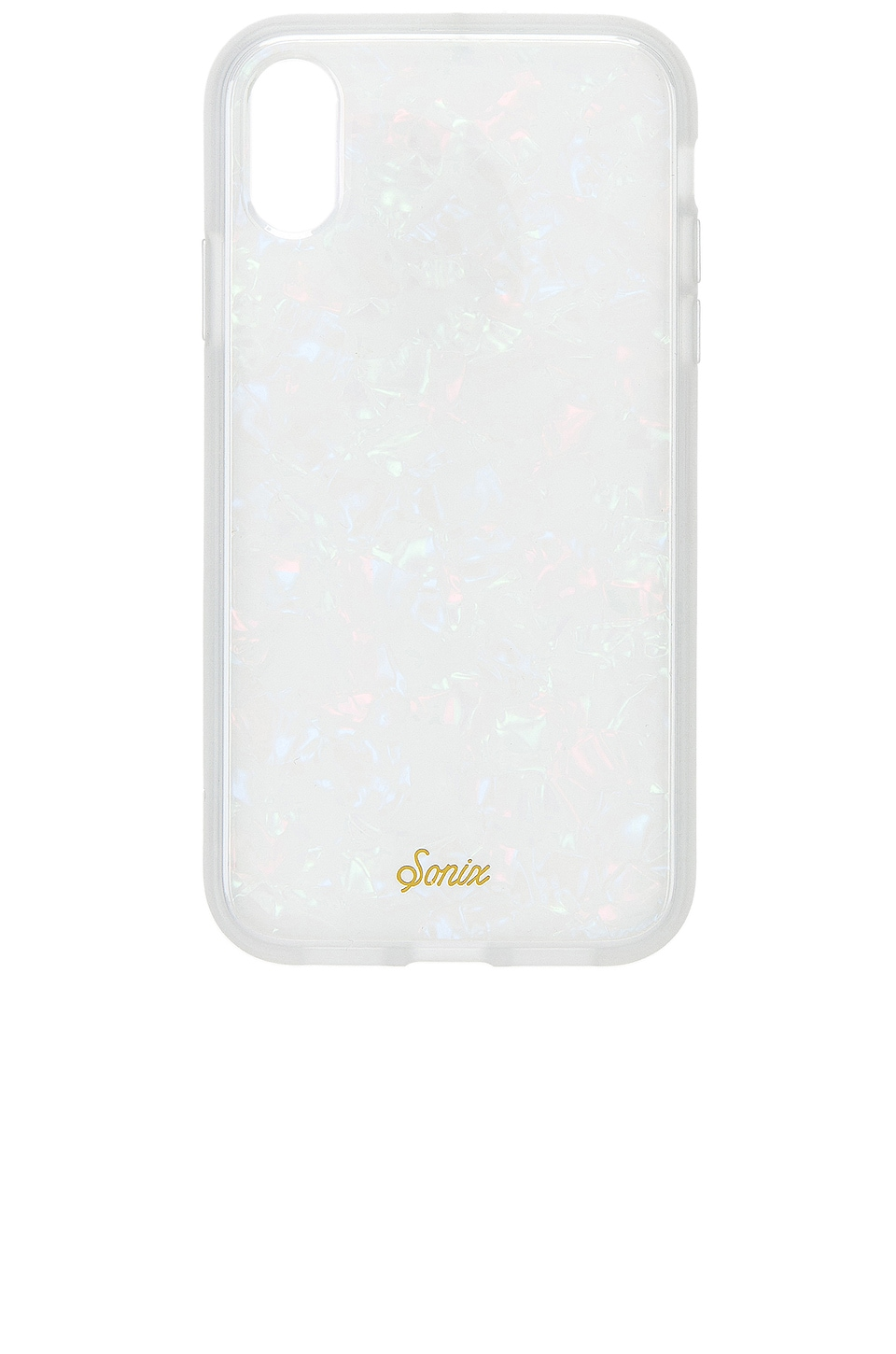 Sonix iPhone XR Case in Pearl Tort