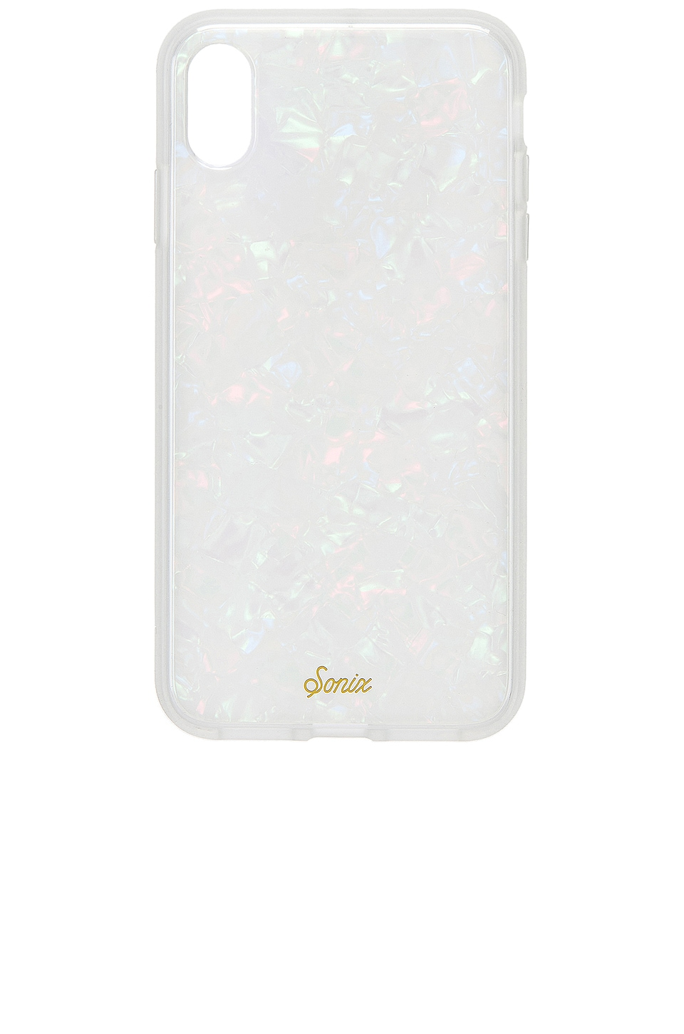 Sonix iPhone Xs Max Case in Pearl Tort
