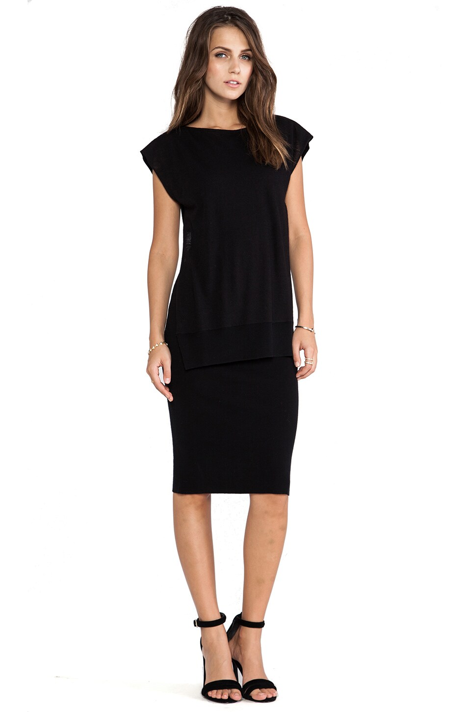 SONIA by Sonia Rykiel Sleeveless Dress in Black