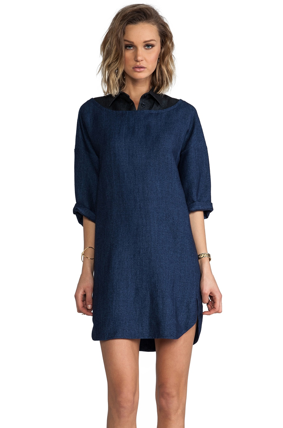 SONIA by Sonia Rykiel Denim Dress in Mix Bleu