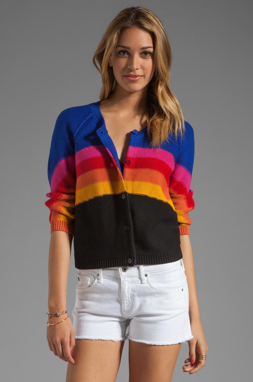 SONIA by Sonia Rykiel Rainbow Sweater in Black Multi