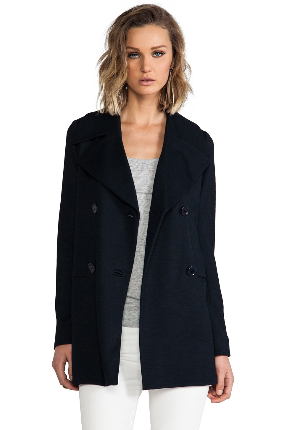 SONIA by Sonia Rykiel Light Jersey Jacket in Navy
