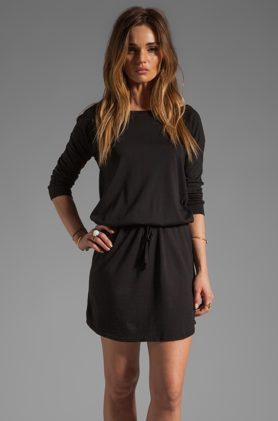 Soft Joie Analee Dress in Caviar