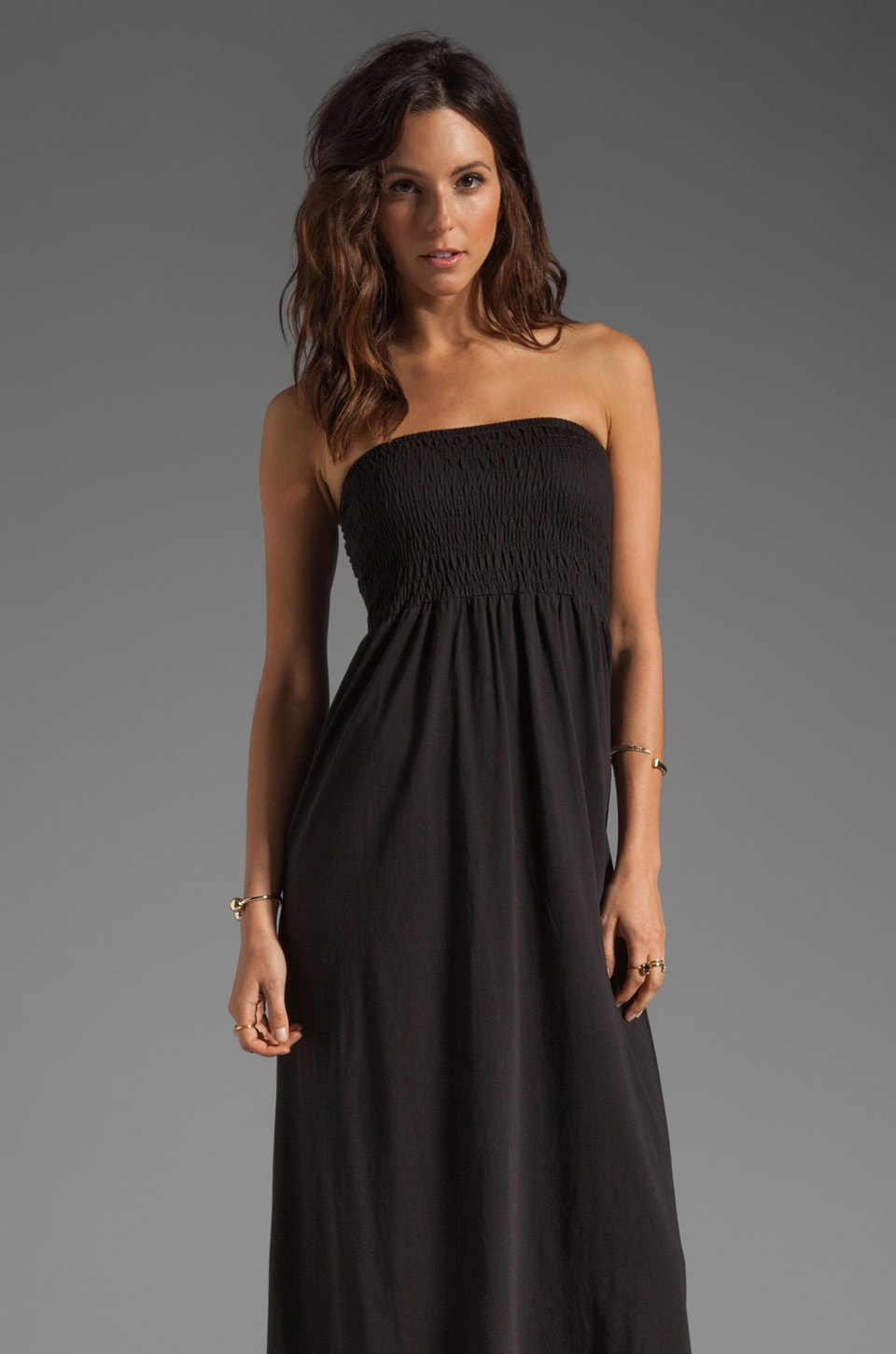Soft Joie Vanlet Maxi Dress in Caviar