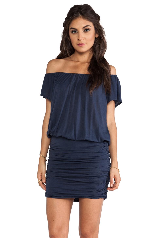 Soft Joie Samera Dress in Indigo Blue