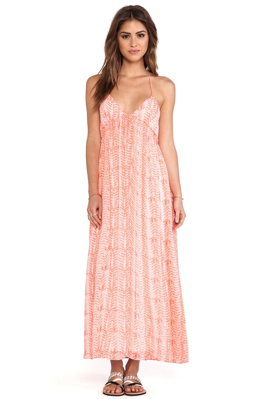 Soft Joie Siya Maxi Dress in Sandy Coral & Pebble