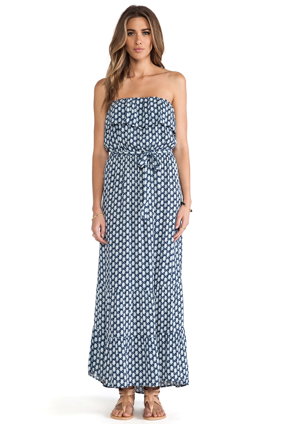 Soft Joie Memorie Dress in Indigo Blue