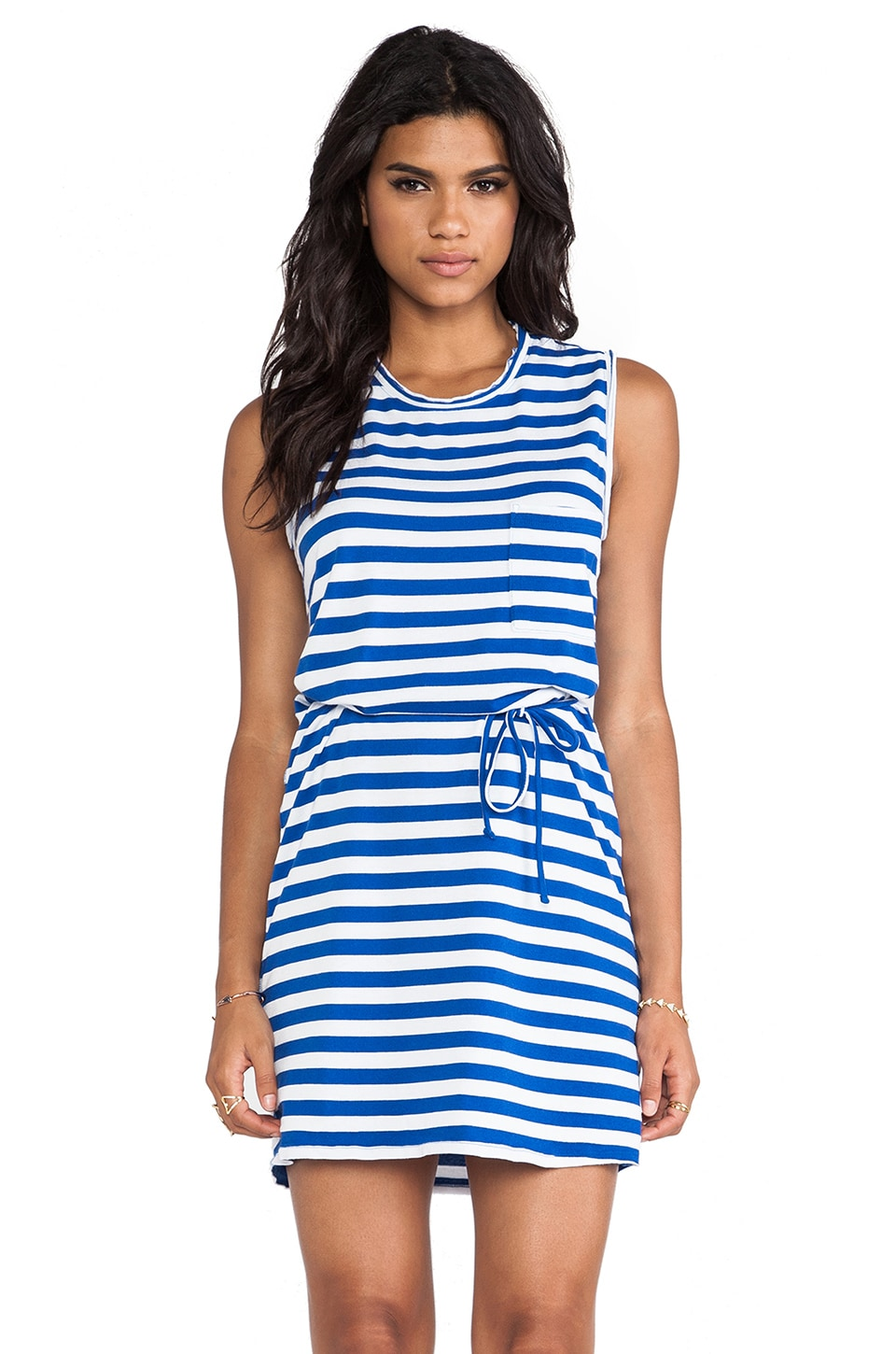 Soft Joie Paseo Mini Dress in Azul & Porcelain