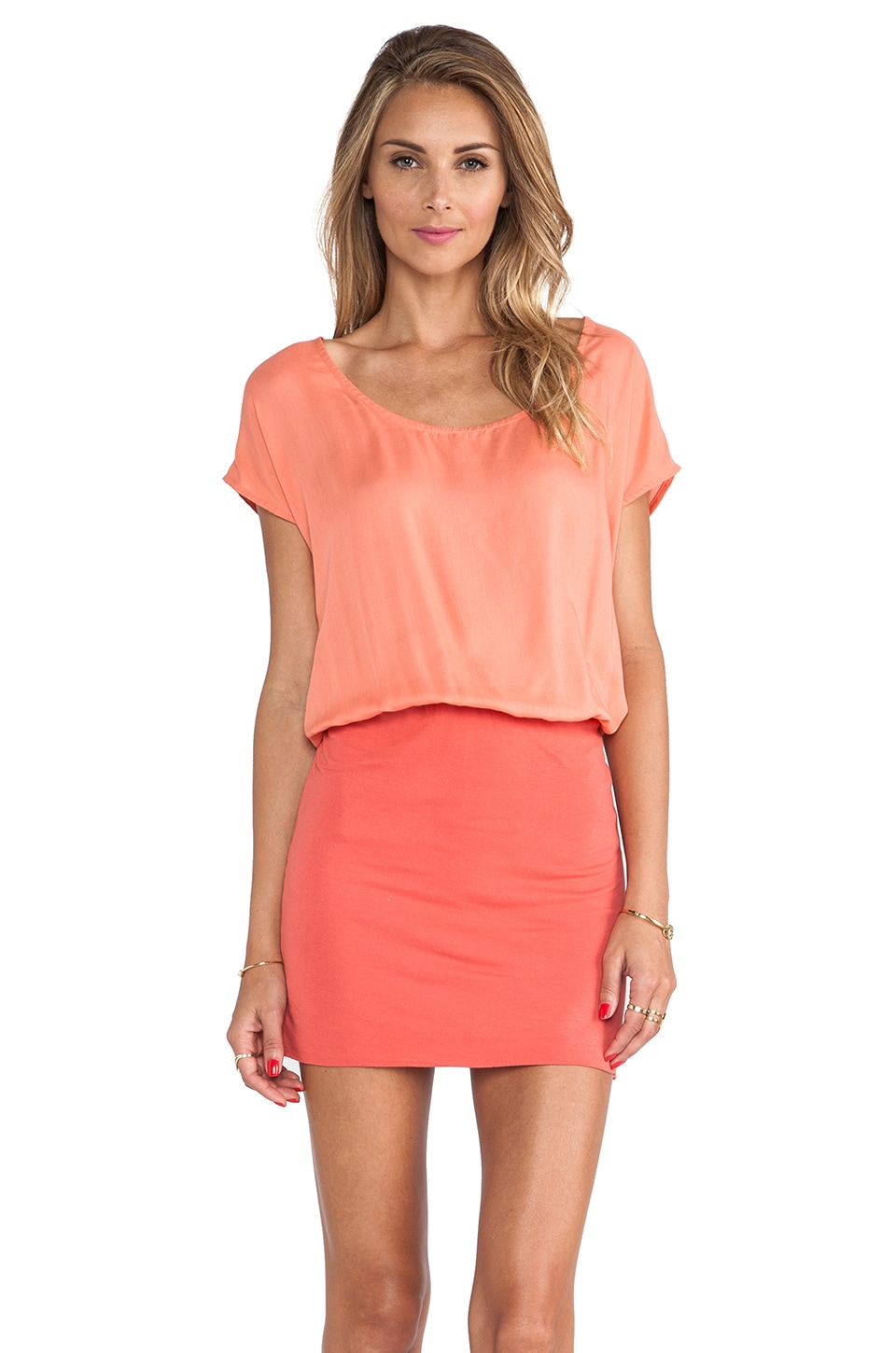 Soft Joie Brix Dress in Sandy Coral