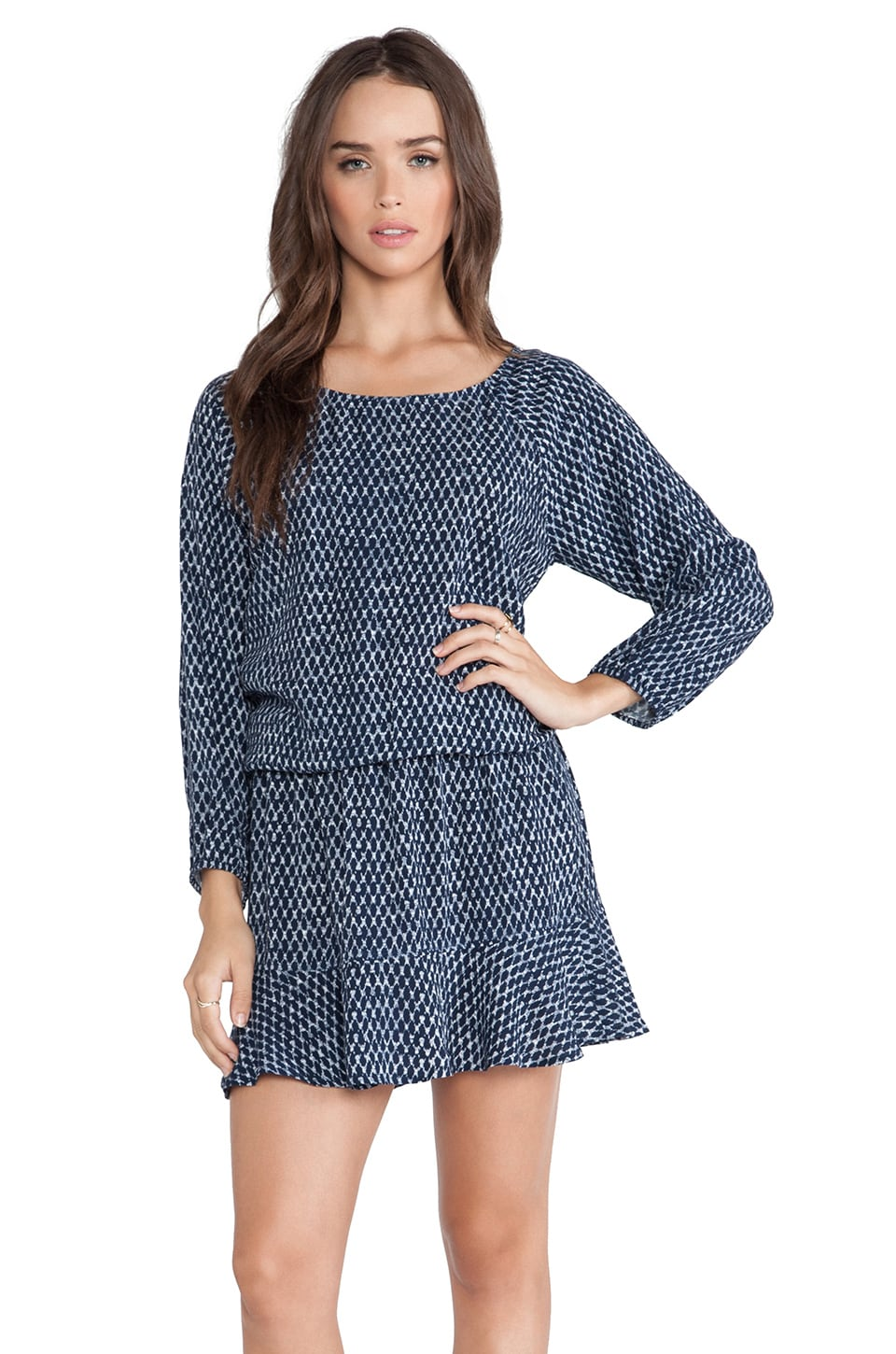 Soft Joie Arryn Dress in Deep Indigo
