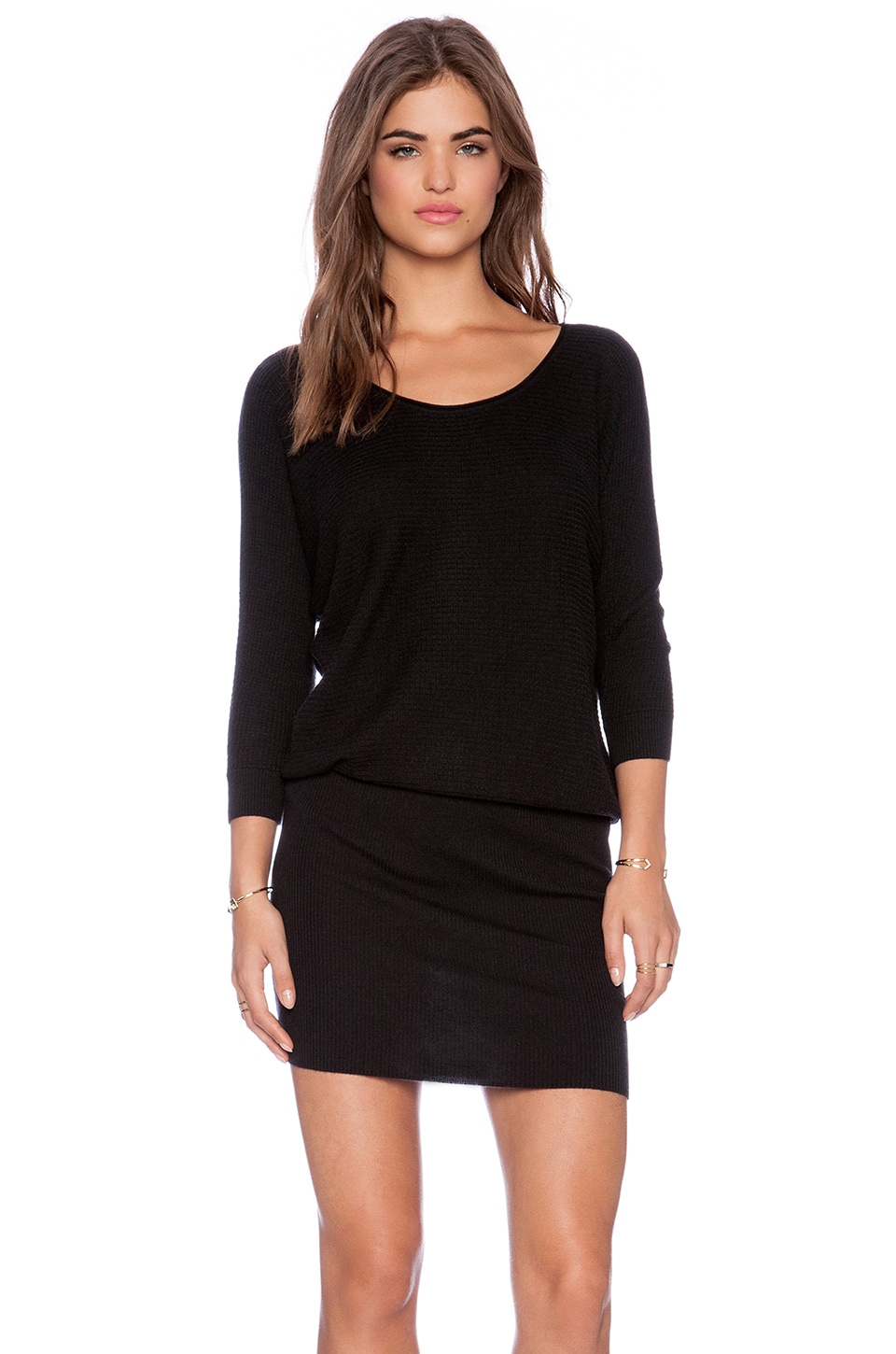 Soft Joie Caralynn Sweater Dress in Caviar