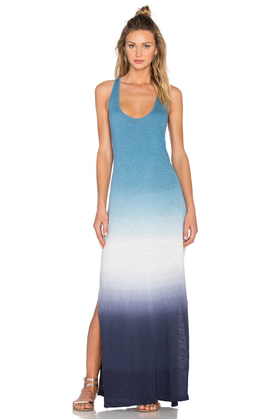 Soft Joie Narda Ombre Maxi Dress in Peacoat
