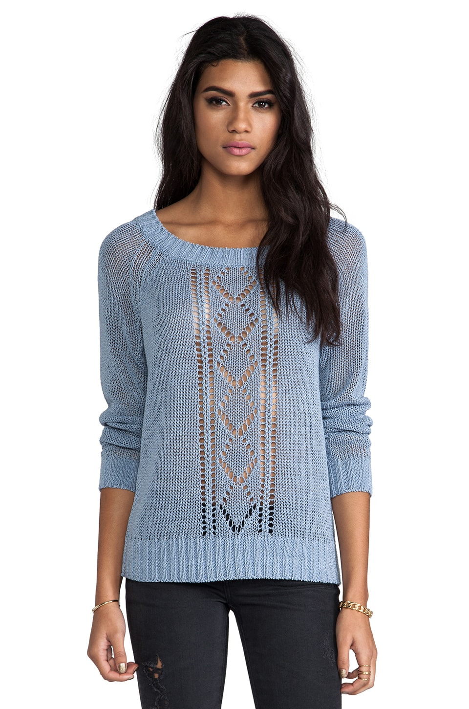 Soft Joie Arden Sweater in Faded Denim