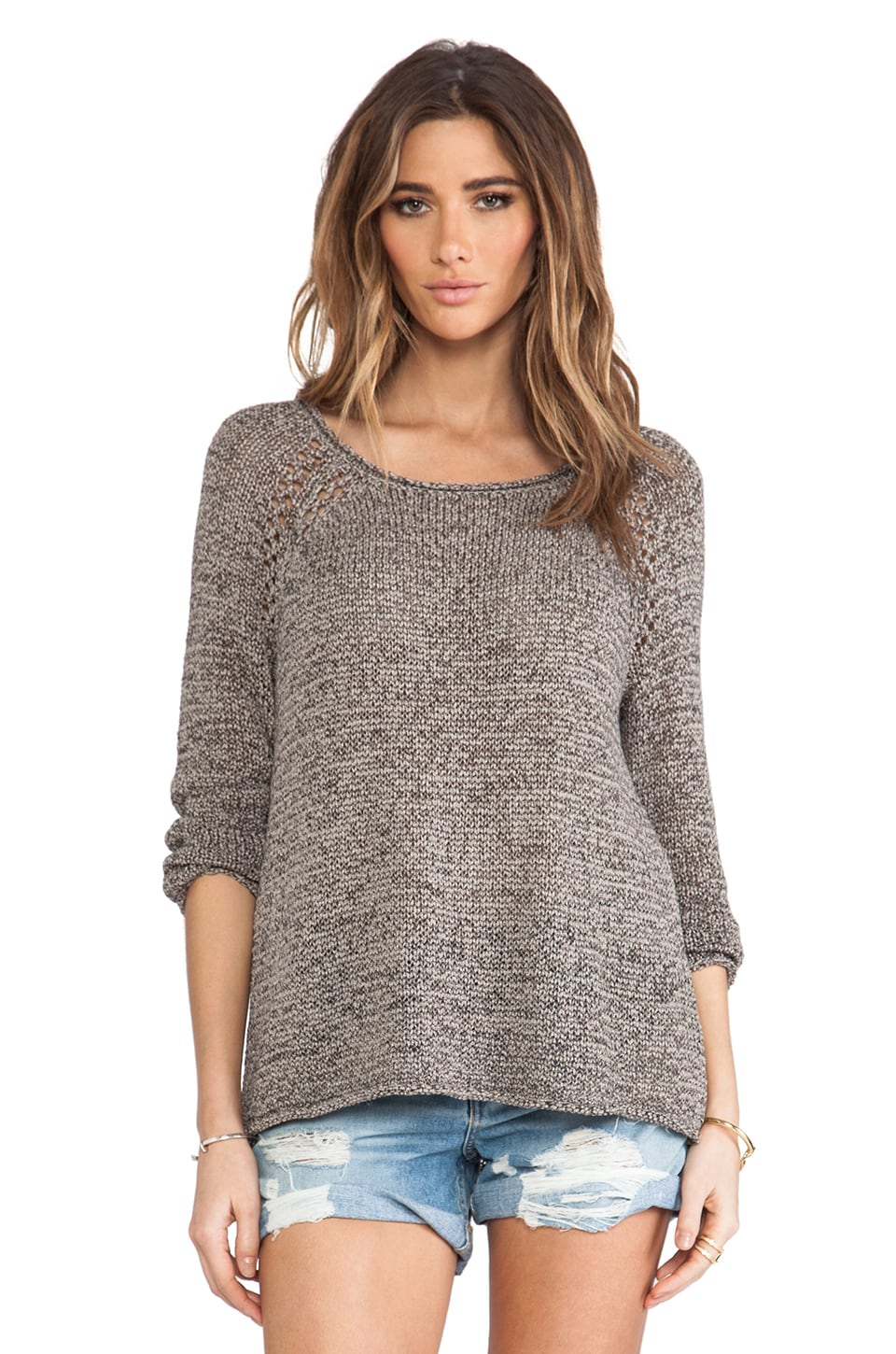 Soft Joie Duran Sweater in Limestone