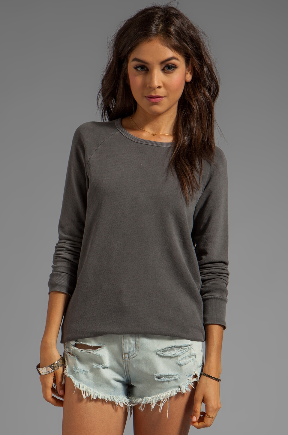 Soft Joie Annora Sweatshirt in Capers