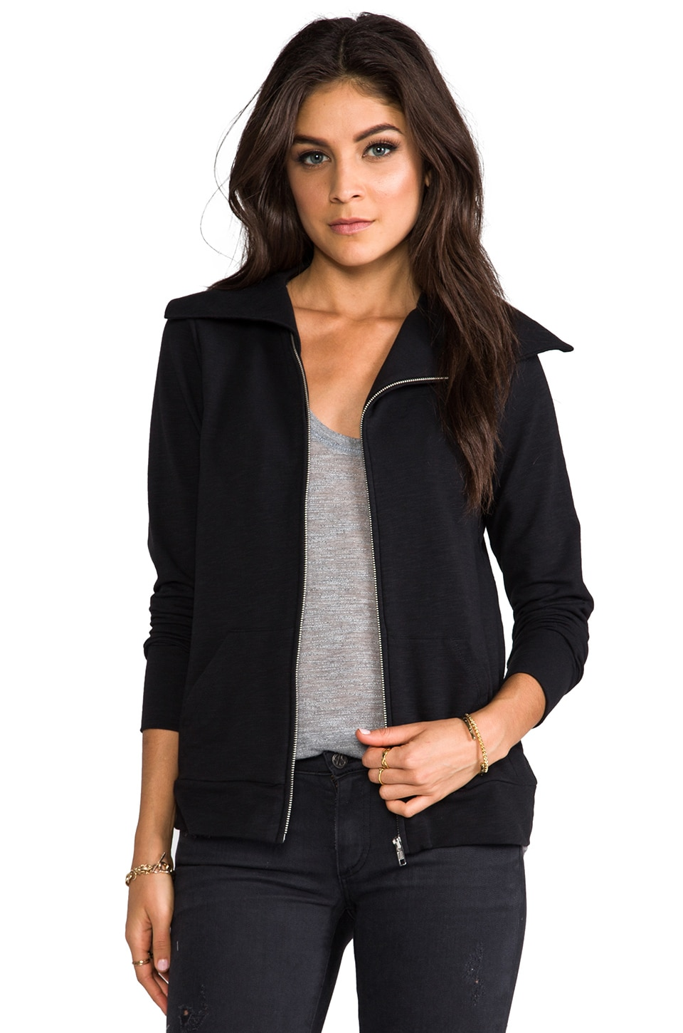 Soft Joie Dayva Jacket in Caviar