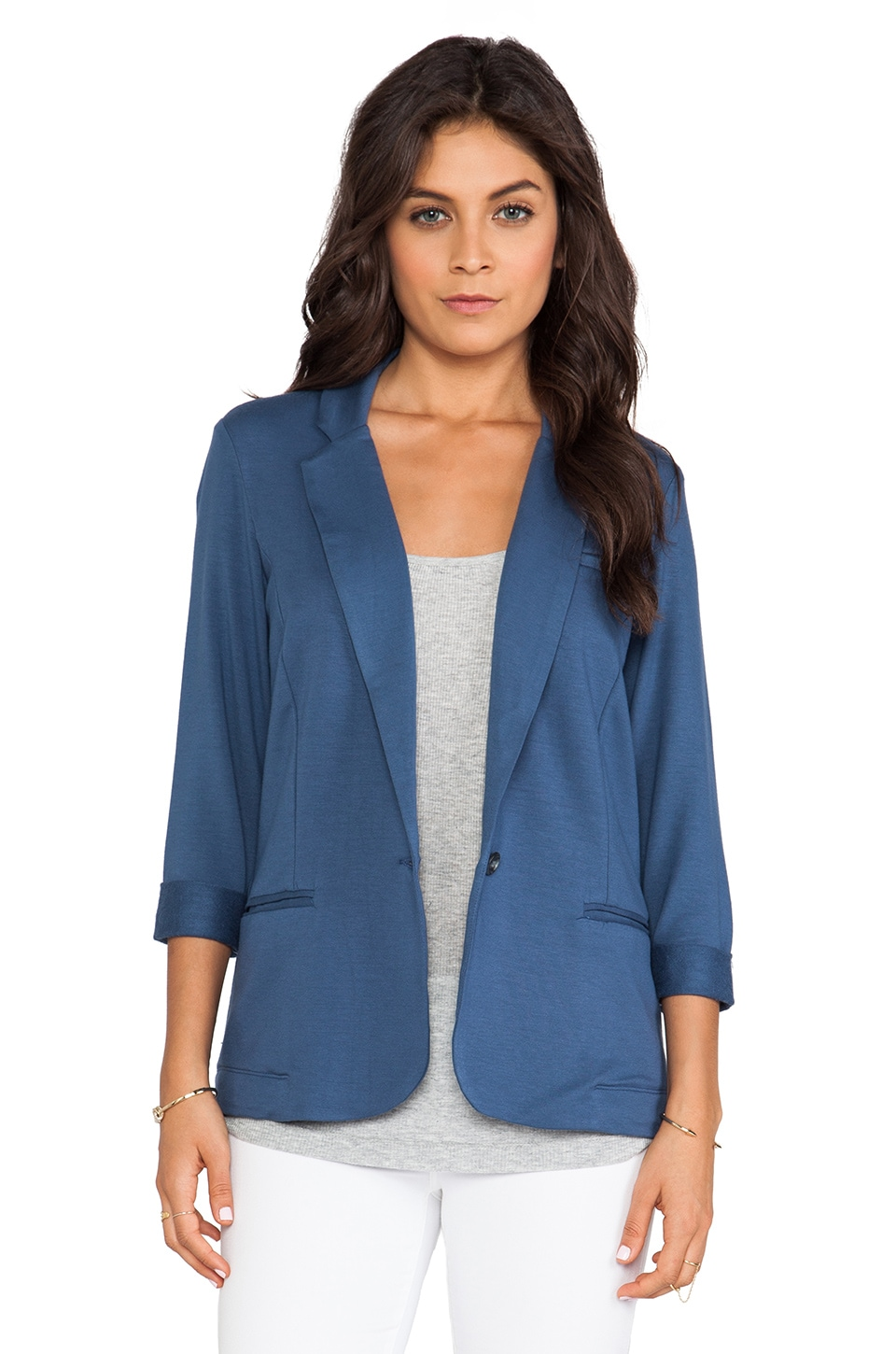 Soft Joie Trevor Blazer in Dark Denim